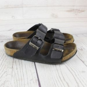 Birkenstock Girls 33 Sandals 2 Black